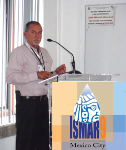 Don Hanson giving a talk regarding the success of managed basin recharge through proper planning at the 9th International Symposium on Managed Aquifer Recharge in Mexico City.
